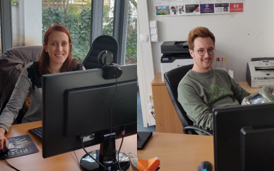 We're welcoming two new trainees!