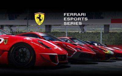 Marchsreiter starts off with Ferrari Esports